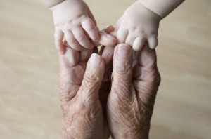 old and young hands - image from vividlife.me