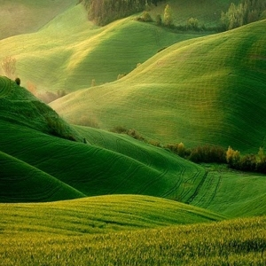 The Rolling Hills of Ireland - Picture courtesy of Bloomingfieldfarmvt.com