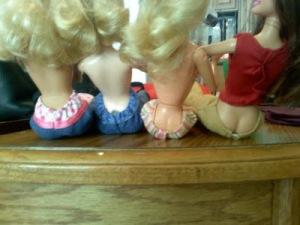 Barbie Butt Crack