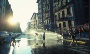 kids in hydrant
